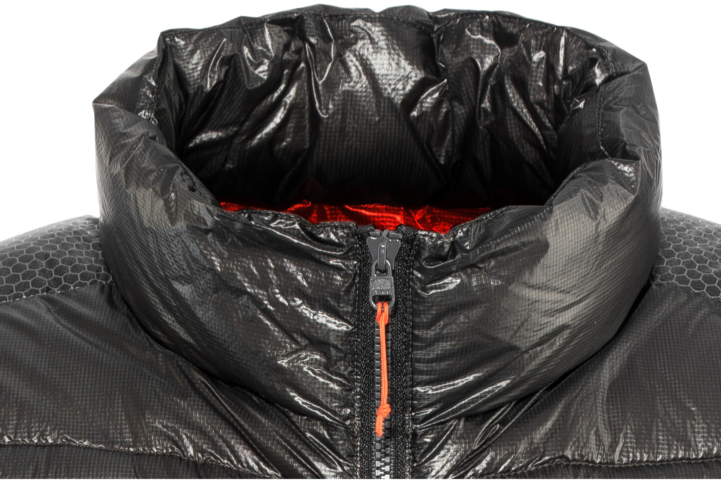 Yeti Cavoc Gilet piumino ultraleggero Uomo, dark gull grey/madarin red (2020) 681386 IKAey